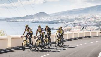 Team Jumbo-Visma, det bästa cykellaget 2020, har valt Teneriffa för sin höghöjdsträning. Foto: Canary Island Tourism
