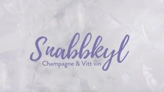 Snabbkyl champagne & vitt vin