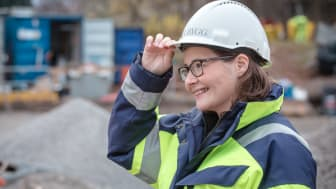 I år antogs 111 kvinnor till samtliga byggutbildningar på Nackademin, vilket innebär en ökning på över 200%