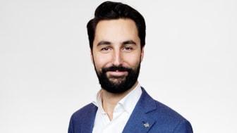 Johan Lotsander är Gröna Lunds nya event- och försäljningschef