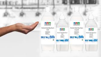 Handdesinfektion från KBM Professional