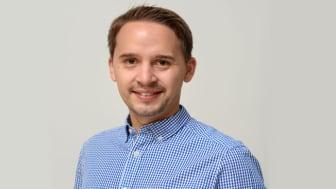 Erik Svanäng har utsetts till arbetschef för Linköping i division Anläggning, Svevia
