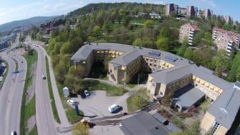 SSGs nya huvudkontor ligger på Skönsbergsvägen 3 i Sundsvall.
