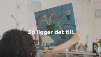 I fyra nya filmer syns elever som bland annat skapar konst och kemiska experiment samtidigt som de pratar om varför lärare ska välja att arbeta i Stockholms stad.