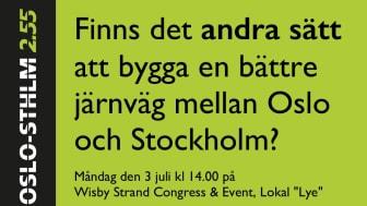 """Måndag den 3 juli kl 14.00 på Wisby Strand Congress & Event, Lokal """"Lye"""""""