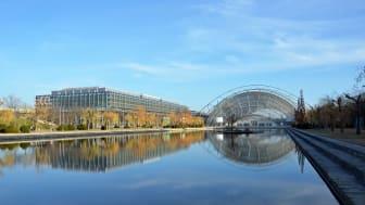 Leipziger Messe - Standort des International Broadcast Centre (IBC) bei der UEFA EURO 2024 - Foto: Jasmin Rhein