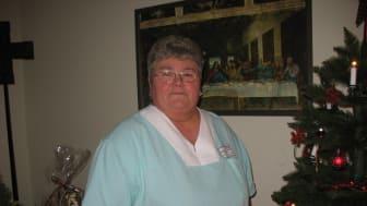 Arbeitete 19 Jahre lang als Raumpflegerin in der Bäderabteilung der Hephata-Klinik in Treysa: Lidia Hölzer