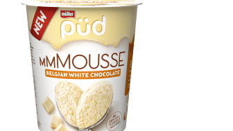 Müller Püd mmMousse Belgian white chocolate