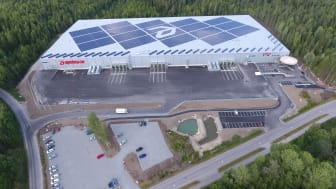Rekordproduktion av el från Apoteas solcellsanläggning