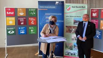 Kooperationsvereinbarung TH Wildau Baruth/Mark 21.09.2020