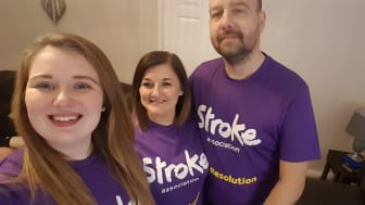 ​Local family joins the resolution for the Stroke Association