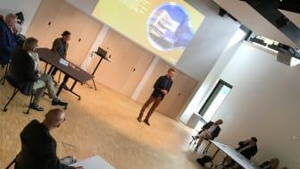 Johanneberg Science Parks partners i workshop om mobilitet i stadsutveckling på A Working Lab i Johanneberg.
