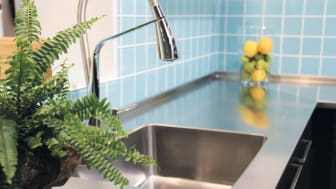 Stainless steel interior - sink for kitchen