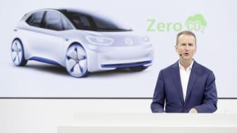 Volkswagen-koncernen planerar för 22 miljoner elbilar på tio år