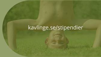 På www.kavlinge.se/stipendier kan du läsa mer de olika kommunpriserna och nominera.