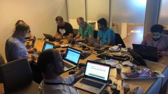 Analyse av et omfattende datagrunnlag - deltakere i dyp konsentrasjon under Sporveiens hackfest