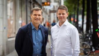 Pontus Andersson, Country Manager, Sverige, Signicat och Joakim Harging, Chief Enterprise Nordics, Signicat