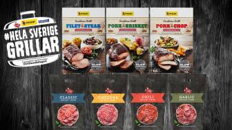 Tulip Filet Steak, Pork Brisket, Pork Chop. Salami Chips: classic, cheddar, chili, garlic.