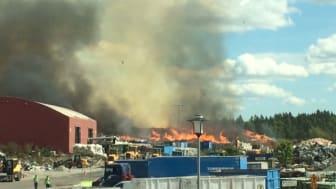 Brand på Lilla Nyby