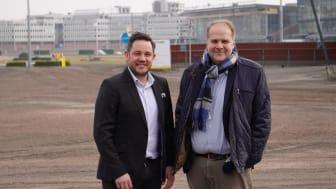 Peter Henriksson och Ola Lernå är med i onsdagspremiären av Solvalla TV 14 april kl. 17.30. Foto: Solvalla