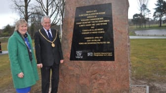 Official opening for £86million Elgin flood scheme