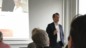 Jørgen Sannesmoen om funktion och fördelar med CleanPilot.
