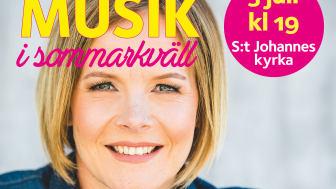 Musik i sommarkväll med Martina Möllås och Ola Hedén