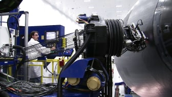 Our first Boeing 787-9 Dreamliner being assembled