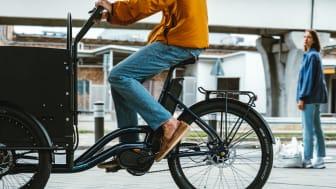 """Lådcykeln """"Loader"""" från svenska tillverkaren Ecoride"""