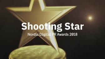 Hur pratar man om öppna data? Hack for Sweden nominerad till Shooting Star i Nordic Digital PR Awards 2018