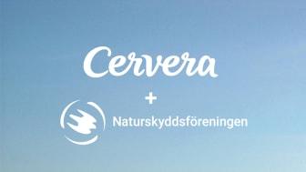 Livs-viktigt – Cervera inleder samarbete med Naturskyddsföreningen