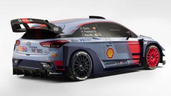 Lansering av ny i20 WRC, Monza 1.12.16