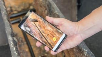 """Mit """"NEXT.TrenchLog"""" erschließt das Bayernwerk neue Welten der Vermessungstechnologie."""