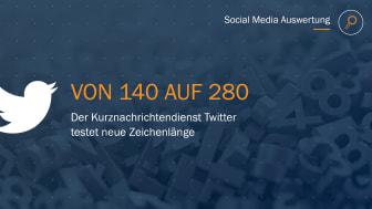 Social Media Insights: Twitter testet neue Zeichenlänge