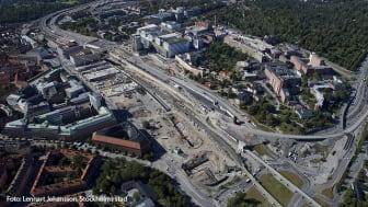 Stockholms nya stadsdel Hagastaden
