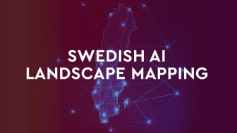 Swedish AI Landscape mapping. Bild: Ignite Sweden.