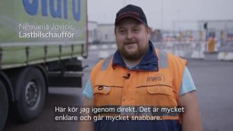 Film - Effektivare inpasseringssystem i Trelleborgs Hamn