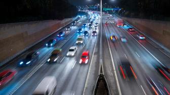 Antalet omkomna i trafiken minskar