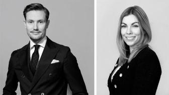 Johan Dahlgren och Michaela Thulin är Våningen & Villans nya franchisetagare i Höllviken.
