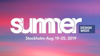 Summer Design Week 19-25 augusti 2019