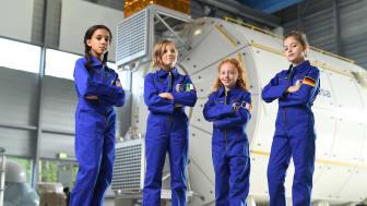 Barbie und die Europäische Weltraumorganisation (ESA) haben sich zusammengetan, um Mädchen zu ermutigen