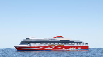 Viking Glory, skissbild Viking Line