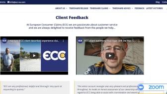 Feedback from ECC clients
