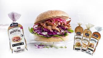 True Style pølse- og hamburgerbrød fra Hatting