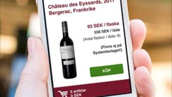 Winefinder lanserar webb app.