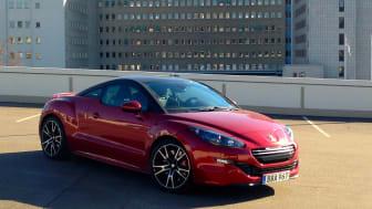 Sverigepremiär för Peugeot RCZ R