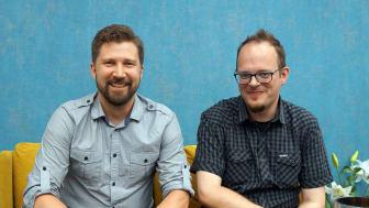 Grundarna av Lazer Wolf, Daniel Wallström och Kristofer Stenskog