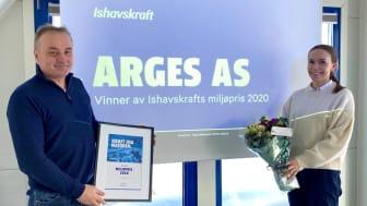 Bjørnar Bull i Arges, og Hedda Øisjøfoss i Ishavskraft. Foto: Miriam Nilssen