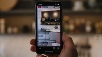 Digital live-visning chatt