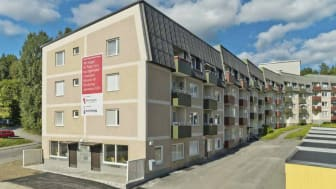 Lokaler blev lägenheter, Brf Skellefteåhus 7